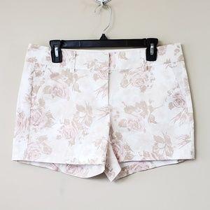 Ann Taylor Petite Floral Print Shorts